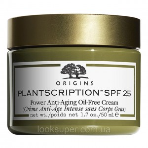 Антивозрастной крем ORIGINS Plantscription anti-ageing oil-free cream 50ml