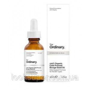 Масло из семян огуречника The Ordinary 100% Organic Cold-Pressed Borage Seed Oil( 30ml )
