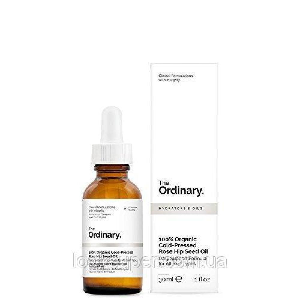 Масло семян шиповника The Ordinary 100% Organic Cold-Pressed Rose Hip Seed Oil( 30ml )