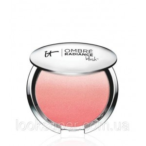 Пудра-румяна осветляющие IT Cosmetics Ombré Radiance Blush.E NE SAIS QUOI