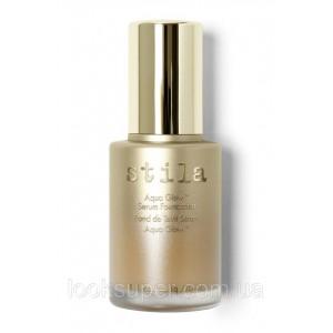 База для макияжа лица STILA Aqua Glow™ Serum Foundation. MEDIUM TAN