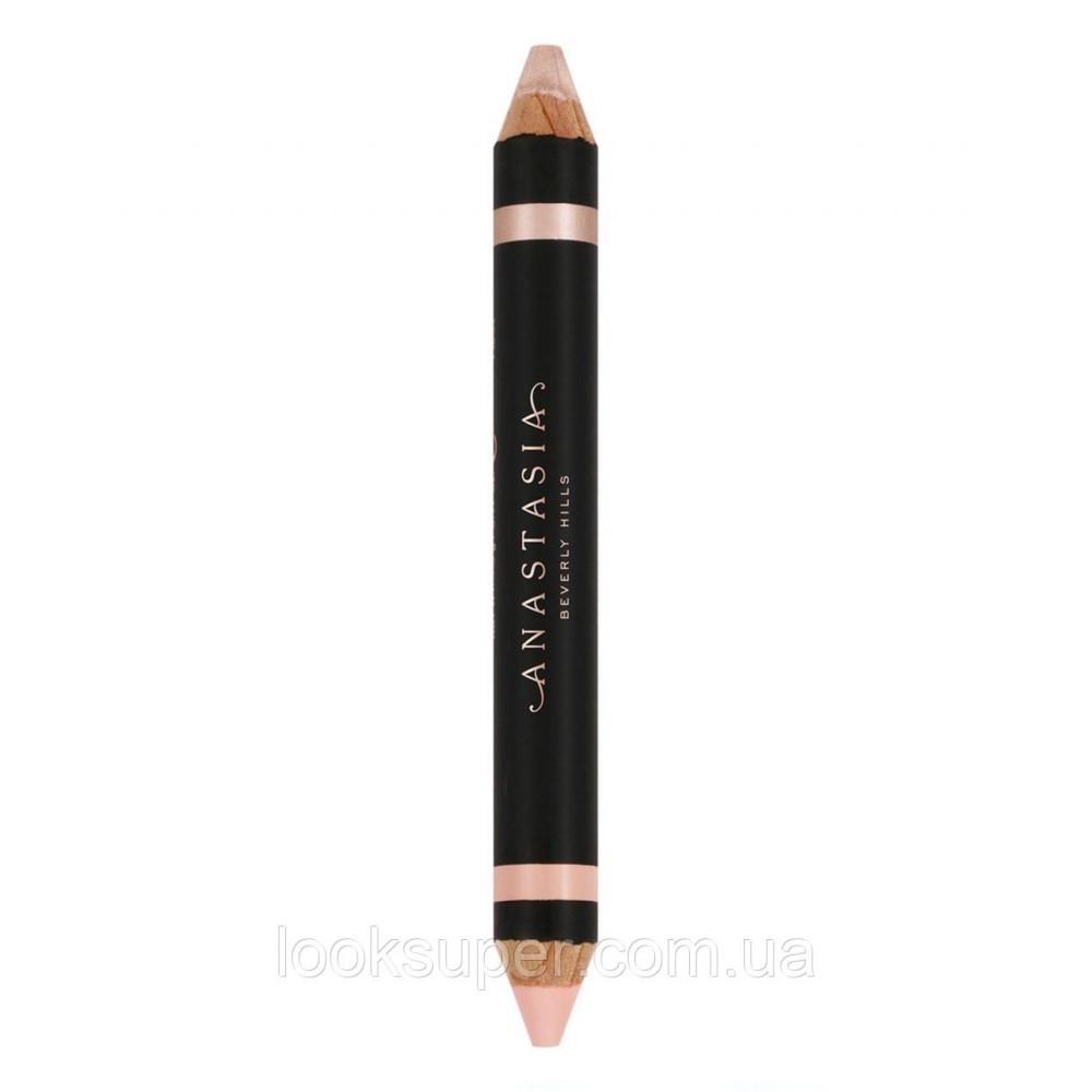 Двусторонний хайлайтер карандаш Anastasia Beverly Hills Highlighting Duo Pencil