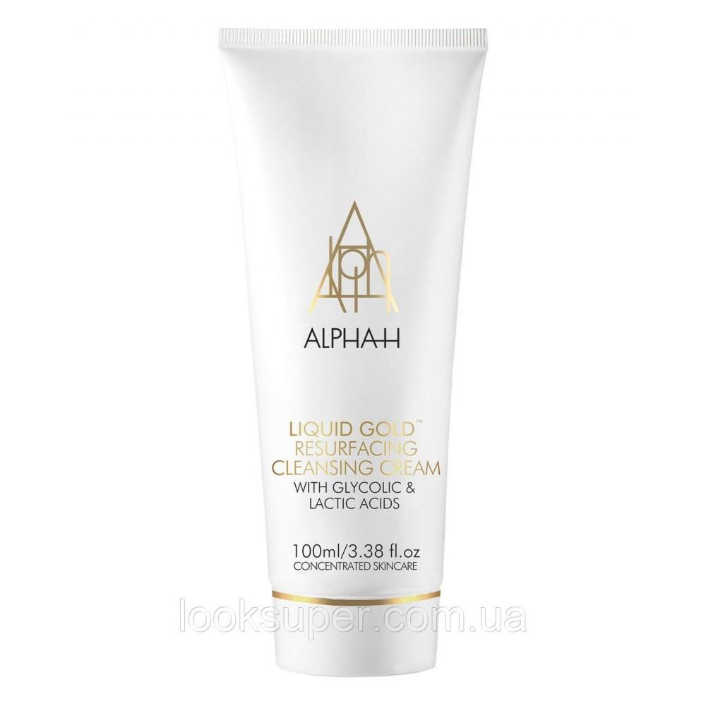 Лосьон  ALPHA -H Liquid Gold Resurfacing Cleansing Cream (100 мл)