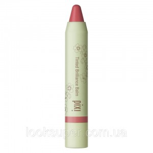 Бальзам для губ  Pixi Beauty Tinted Brilliance Balm.  Craving Coral