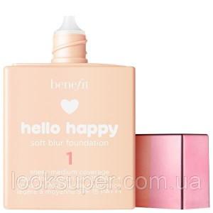 Тональная основа BENEFIT Hello Happy Soft Blur Foundation 30ml 12 оттенков