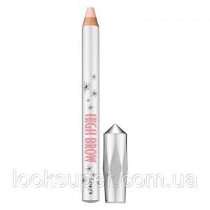Хайлайтер для бровей BENEFIT High brow glow brown highlighter pencil 2.8g