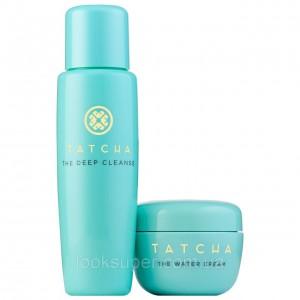 Дуэт крем + клинсер TATCHA  Pore-Perfecting Moisturizer & Cleanser Duo