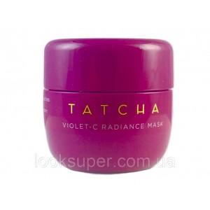 Кремовая анти эйдж маска TATCHA Violet-C Radiance Mask Travel Size 10 ml