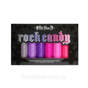 Набор губных помад KAT VON D Rock Candy Studded Kiss Lipstick Set  6 х 1,18ml