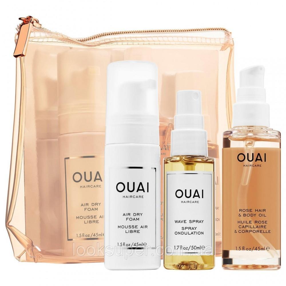 Дорожный набор косметики  OUAI The Easy Ouai Kit