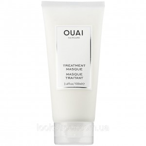 Восстанавливающая лечебная маска OUAI Treatment Masque 100ml