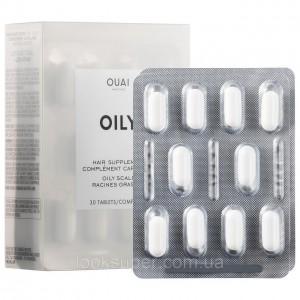Комплекс для жирной кожи головы  OUAI Hair Supplement for Oily Scalp