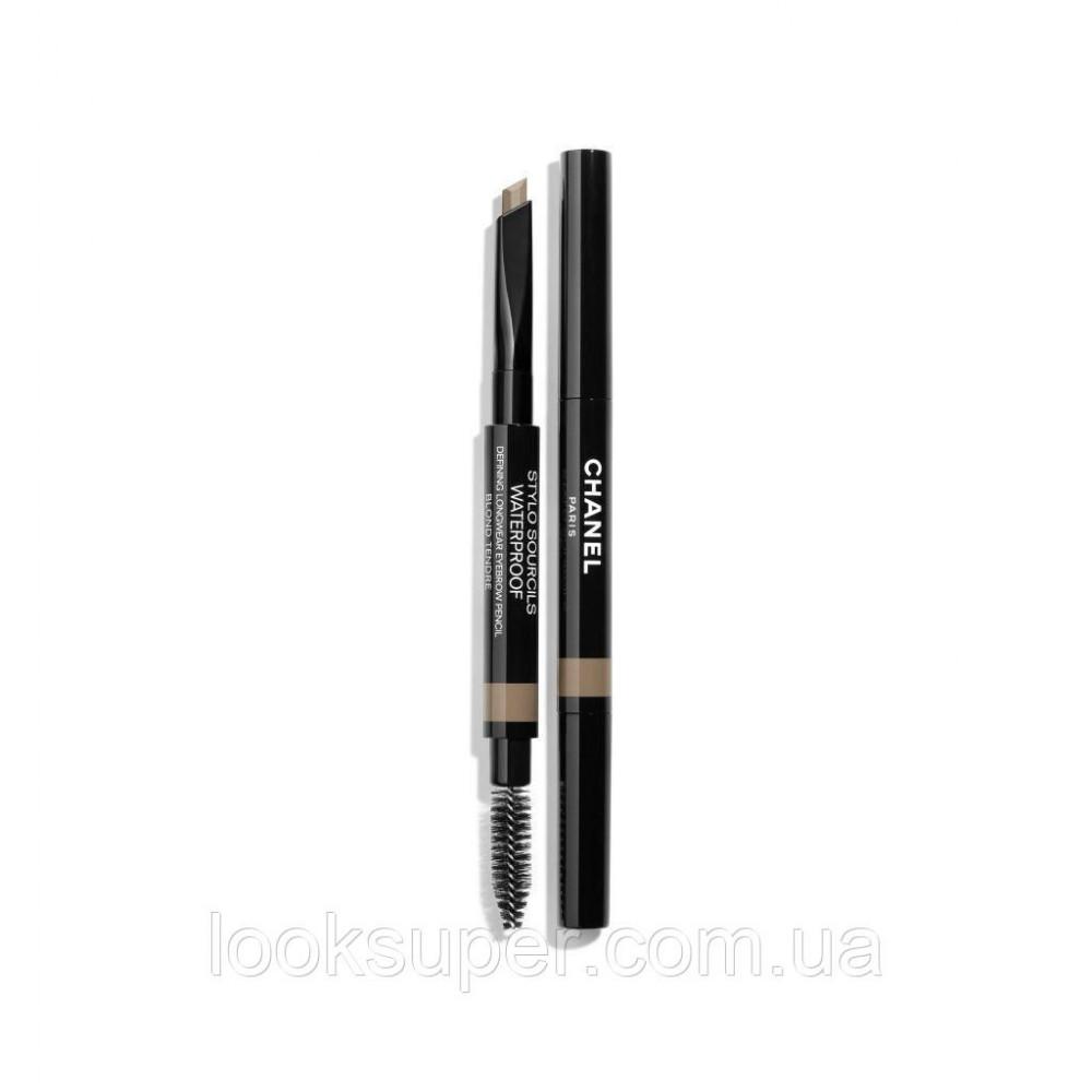 Водостойкий карандаш для бровей CHANEL STYLO SOURCILS WATERPROOF  806 - BLOND TENDRE