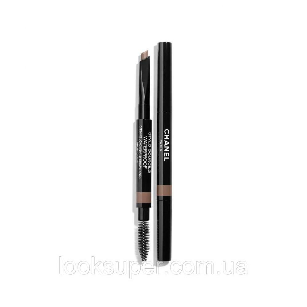 Водостойкий карандаш для бровей CHANEL STYLO SOURCILS WATERPROOF 808 - BRUN CLAIR