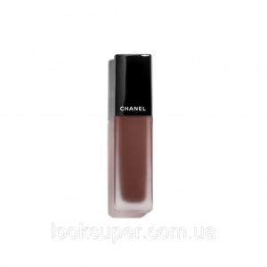 Жидкая матовая помада для губ CHANEL ROUGE ALLURE ink matte lip colour  180 - CHOCOLATE