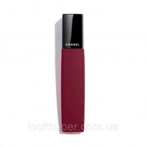 Жидкая матовая помада для губ CHANEL ROUGE ALLURE LIQUID POWDER  966 - CRANBERRY RED