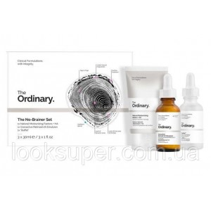 Набор The Ordinary The No-Brainer Set ( 3 x 30ml )