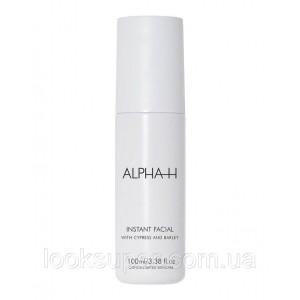 Очищаюший лосьон Alpha-H  Instant Facial (100 мл)