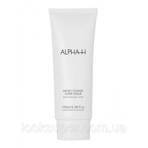 Скраб для лица Alpha-H Micro Cleanse Super Scrub (100мл)