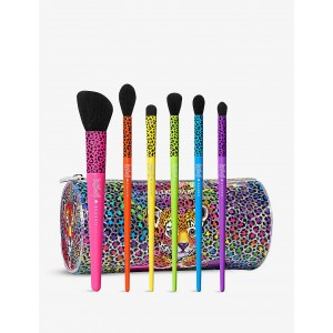 Набор косметических кистей  Morphe X Lisa Frank Blend Bright 6-piece brush set ( ограниченная версия)