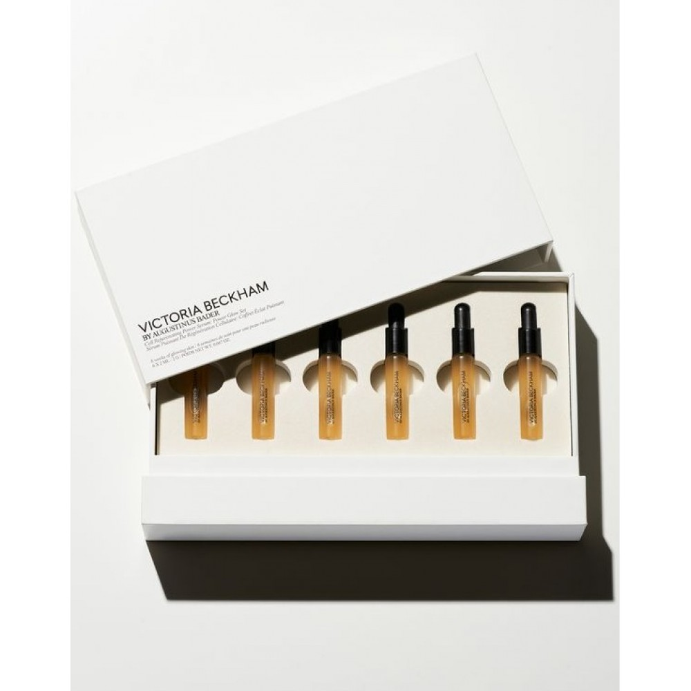 Набор сыворотки для лица  VICTORIA BECKHAM beauty Cell Rejuvenating Power Serum Glow Set ( 6 x 2ml )