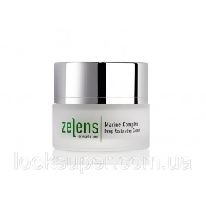 Крем на основе морского комплекса ZELENS Marine Complex Deep Restorative Cream
