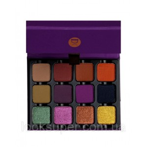Палетка теней  Viseart Dark EDIT Eyeshadow Palette( 12g )