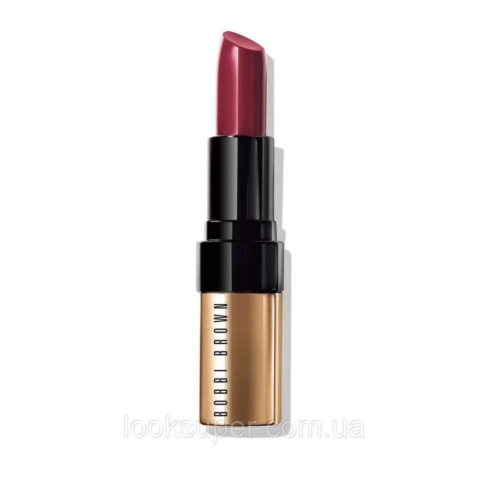 Атласная помада для губ Боби Браун  Luxe Lip Color Plum Rose