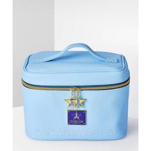 Дорожная сумка для косметики JEFFREE STAR COSMETICS TRAVEL BAG LIGHT BLUE голубая