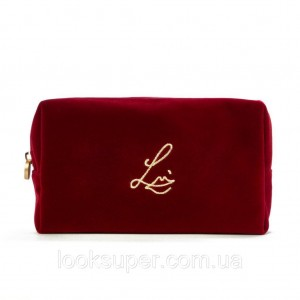 Бархатная косметичка Lisa Eldridge The Cherry Velvet Makeup Pouch