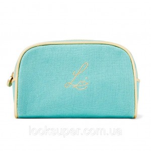 Льняная косметичка Lisa Eldridge The Aquamarine Linen Makeup Pouch