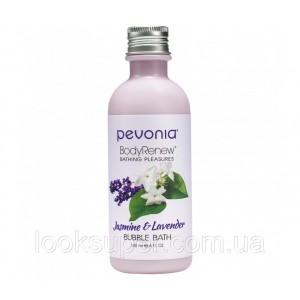 Гель для душа/ пена для ванны Pevonia BUBBLE BATH/SHOWER GEL - JASMINE & LAVENDER 180ML