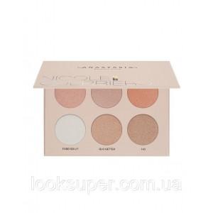 Палетка для лица  Anastasia Beverly Hills  Nicole Guerriero Glow Kit ( 6 x 4.5g )