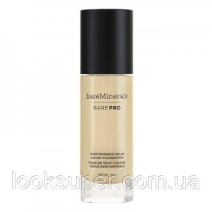 Жидкая основа Bare Minerals BAREPRO 24-Hour Full Coverage Liquid Foundation SPF20 30ml  CASHMERE 06