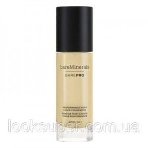 Жидкая основа Bare Minerals BAREPRO 24-Hour Full Coverage Liquid Foundation SPF20 30ml  GOLDEN IVORY 08