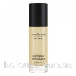 Жидкая основа Bare Minerals BAREPRO 24-Hour Full Coverage Liquid Foundation SPF20 30ml LIGHT NATURAL 09
