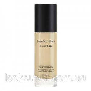 Жидкая основа Bare Minerals BAREPRO 24-Hour Full Coverage Liquid Foundation SPF20 30ml SILK 14