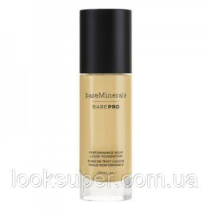 Жидкая основа Bare Minerals BAREPRO 24-Hour Full Coverage Liquid Foundation SPF20 30ml SANDSTONE 16