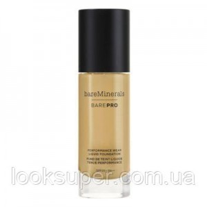 Жидкая основа Bare Minerals BAREPRO 24-Hour Full Coverage Liquid Foundation SPF20 30ml SABLE 21