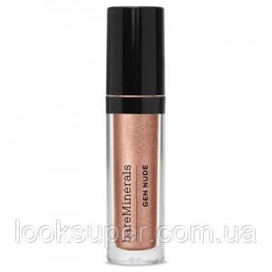 Жидкие тени для век Bare Minerals Gen Nude Metallic Liquid Eyeshadow SUNSTONE