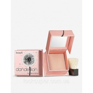 Пудра -хайлайтер  Benefit Dandelion Twinkle highlighter and luminizer в формате Travel-Size(1.5g)