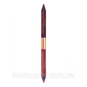 Двусторонний карандаш для век  Charlotte Tilbury Eye Colour Magic Liner Duo - Mesmerising Maroon ( 1g ) *