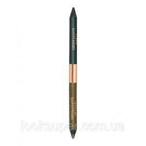 Двусторонний карандаш для век  Charlotte Tilbury Eye Colour Magic Liner Duo - Green Lights ( 1g ) *