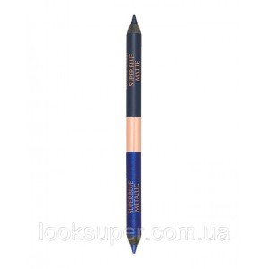 Двусторонний карандаш для век  Charlotte Tilbury Eye Colour Magic Liner Duo - Super Blue( 1g ) *