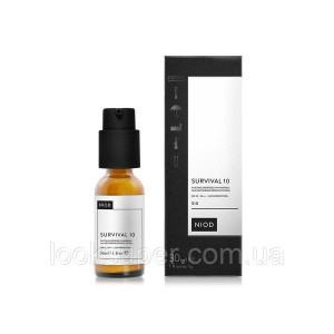 Антиоксидантная сыворотка c SPF 10 NIOD Survival 10  - 30ml