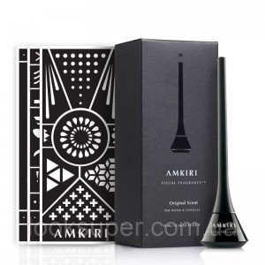 Парфюмированые чернила  и трафареты  Amkiri Original Scent Charcoal Wand & Stencils 10ml