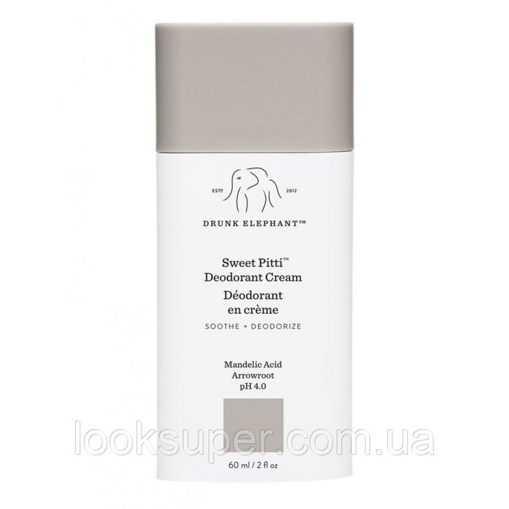 Крем -деодорант для подмышек Drunk Elephant Sweet Pitti Deodorant Cream ( 60ml )