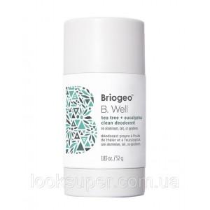 Деодорант Briogeo B. Well Tea Tree + Eucalyptus Clean Deodorant ( 52g )