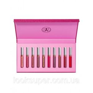 Набор жидких помад Anastasia Beverly Hills  10 Piece Liquid Lipstick Set ( 10 x 3.2g ) Ограниченный выпуск