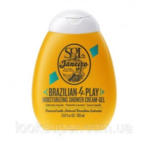 Крем-гель для душа SOL DE JANEIRO 4-Play Moisturizing Shower Cream-Gel 385ml